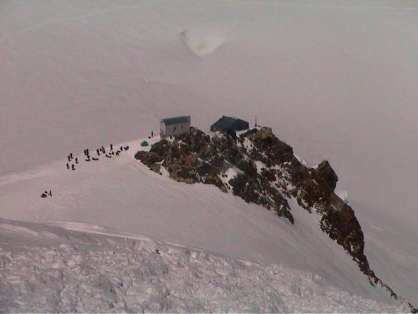 A to už jsme zpět z vrcholu u Vallotky.