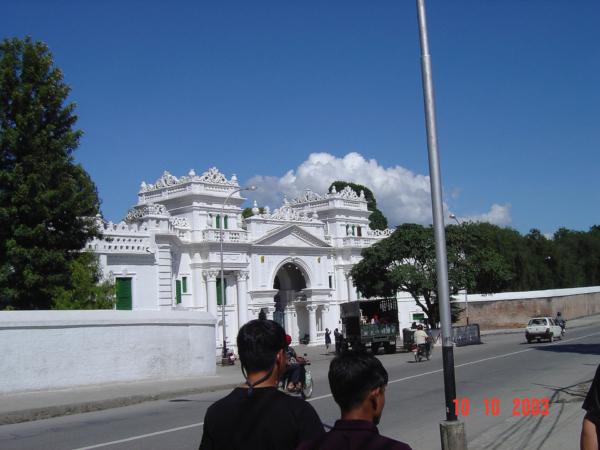 Další budova, která je součástí královského paláce.
