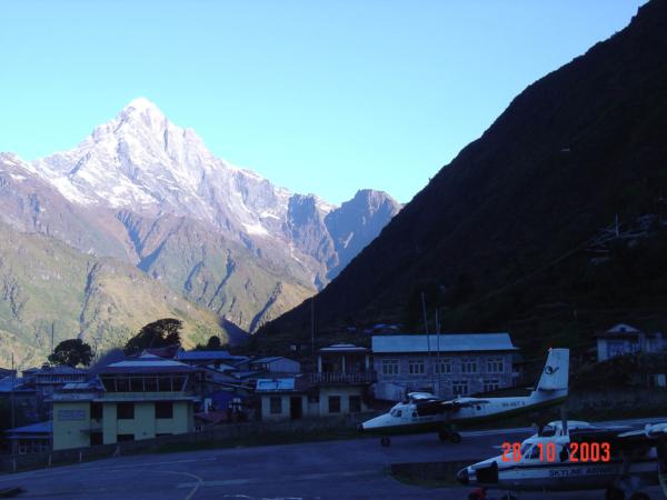 A my odlétáme zpět do Kathmandu.