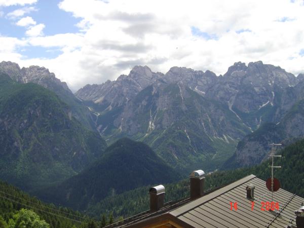 A fotíme okolní - Karnské Alpy.