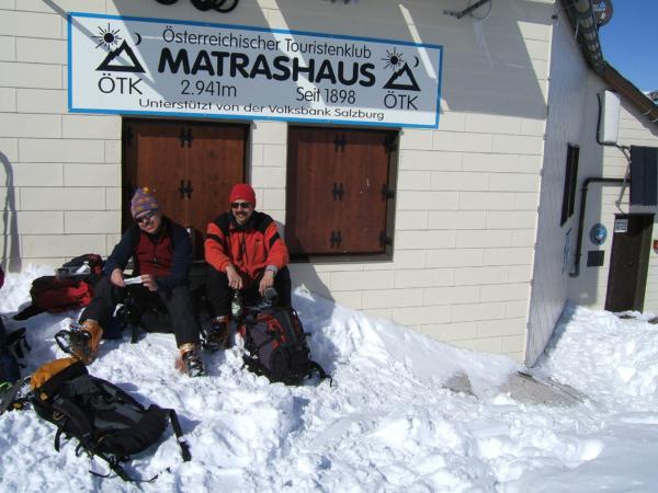 A jsme tu - na vrcholu Hochkönigu.