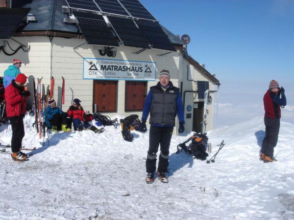 Povinné vrcholové foto - až můj 3. pokus o tento vrchol byl úspěšný...