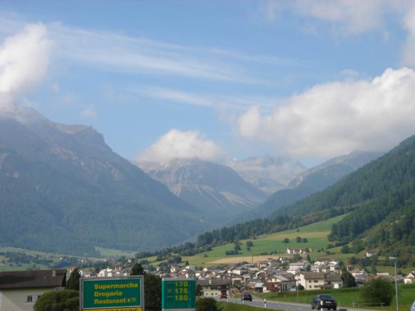 Pohled údolím Venosta.