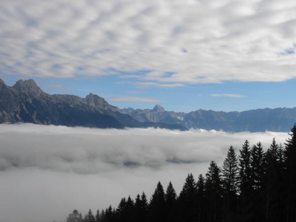 Výhledy nad mlhou