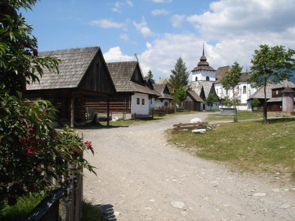 U Pribyliny - v muzeu Liptovskej dediny