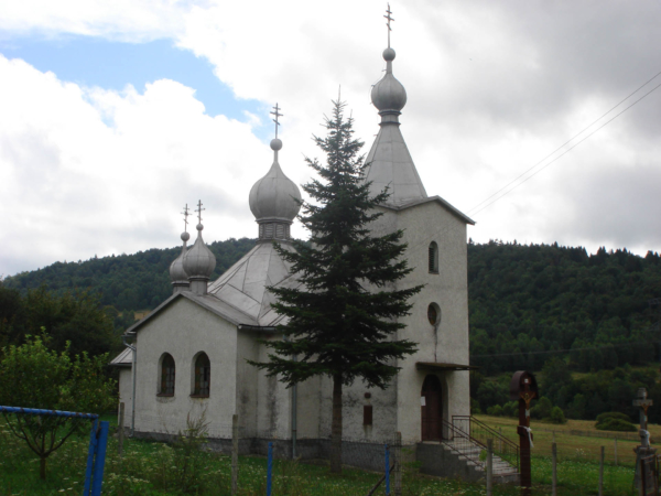 Další kostelík u Krajnej Porúbky