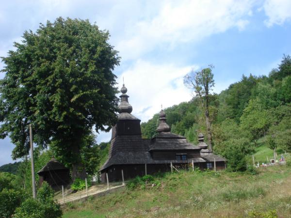Kostelík, dřevěný asi původní.