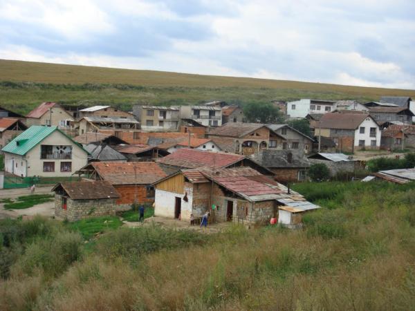 Cikánská osada u Kapušan