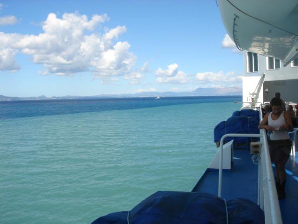 Dvoubarevné moře...