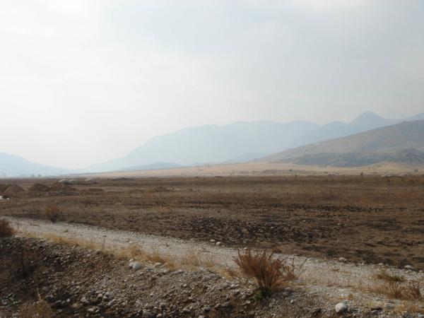 Poslední pohled na albánské bunkry, za chvíli řecká hranice.