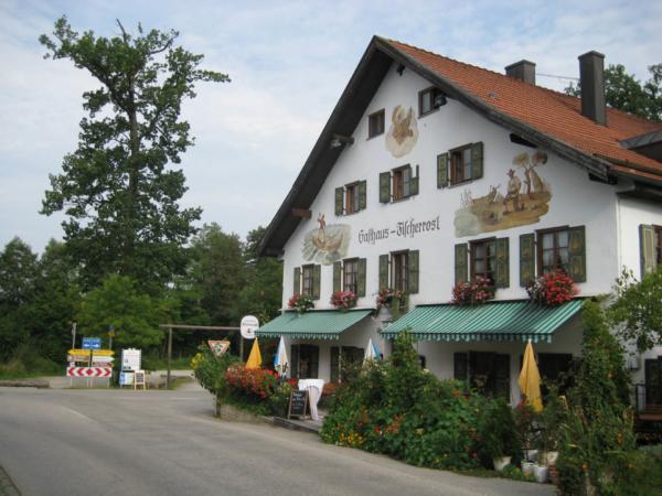 Ubytovali jsme se v Gasthausu Fischerrosl - pohoda.
