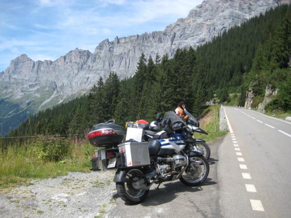 Další výhledy - i s motorkami.