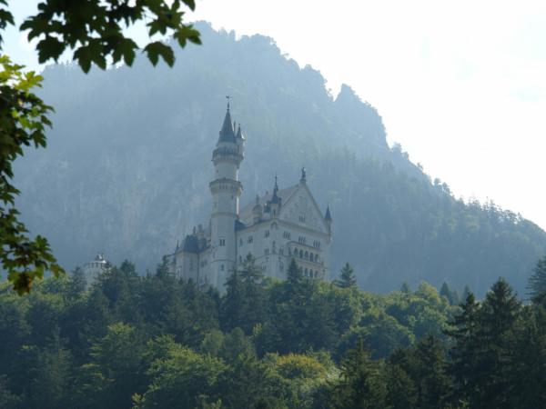 Ale Neuschwanstein vypadá lépe.