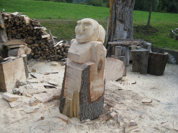 Dřevěná Andula?