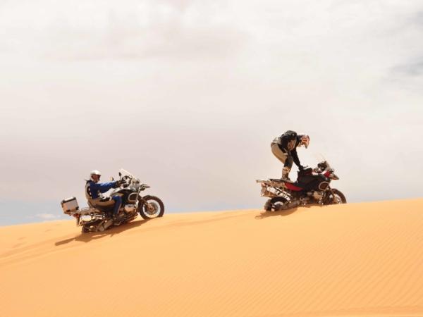 Výjezd na dunu