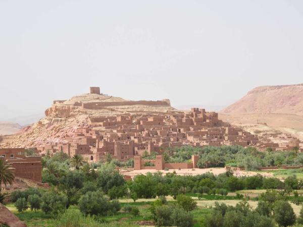 Kasba Ait Benhaddou - nejznámější a asi i nejzachovalejší v Maroku.
