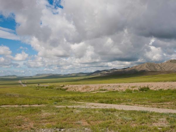 Cesta směrem k Tsetserlegu.