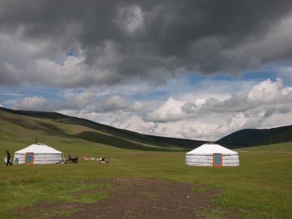 Jdeme na návštěvu k mongolským pastevcům.