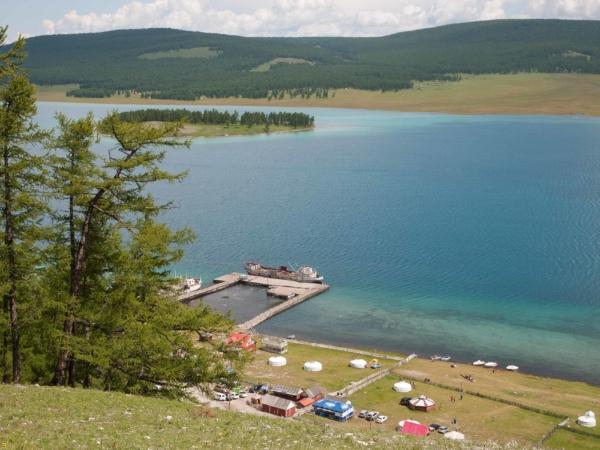 Jezero Chovsgol.