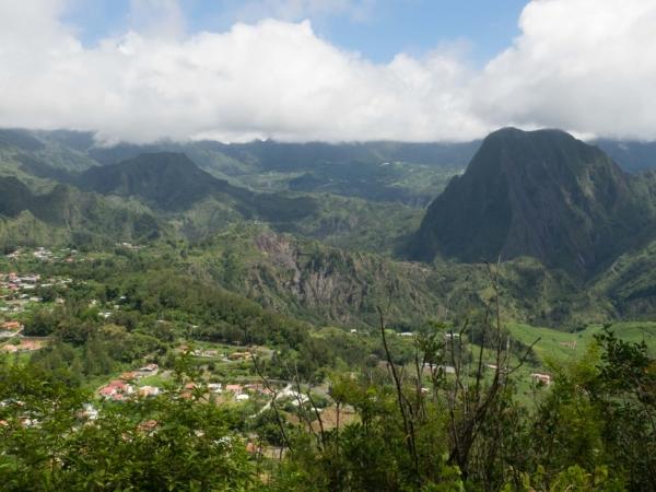 Výhled na vesničku