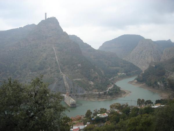 Pohled na El Chorro