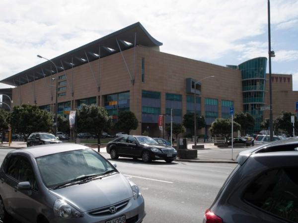 Slavné muzeum Te Papa - národní muzeum Nového Zélandu.