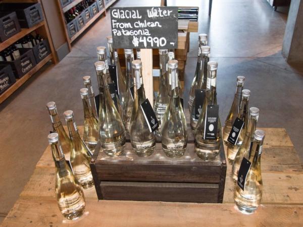 Láhev vody z ledovců v chilské Patagonii za pouhých 10 USD !