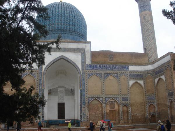 Vnitřní dvorana mausolea.