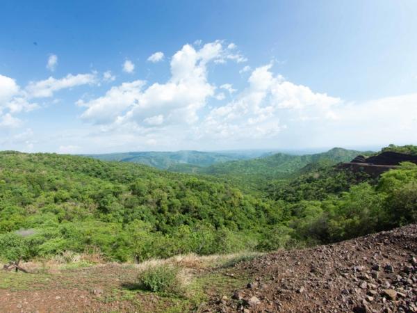 Krajina v národním parku Mago.