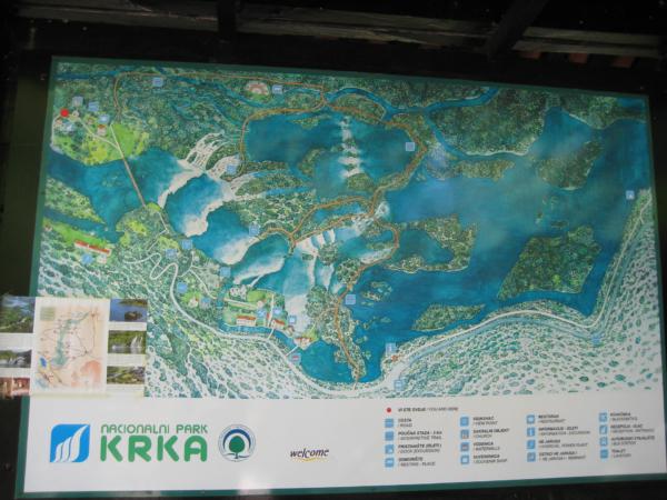 Plán NP Krka
