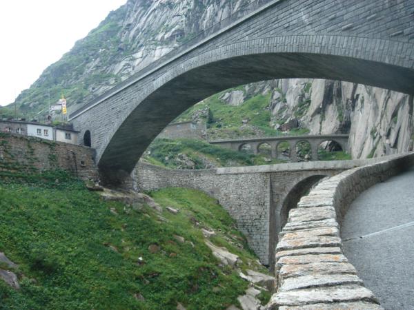 Ono to místo není jen o jednom můstku - jsou tu hned 3 mosty