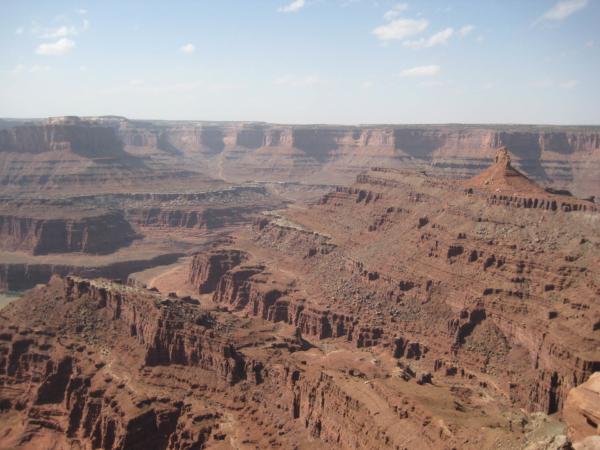 Klidně by se to mohlo vydávat za foto z Grand Canyonu.