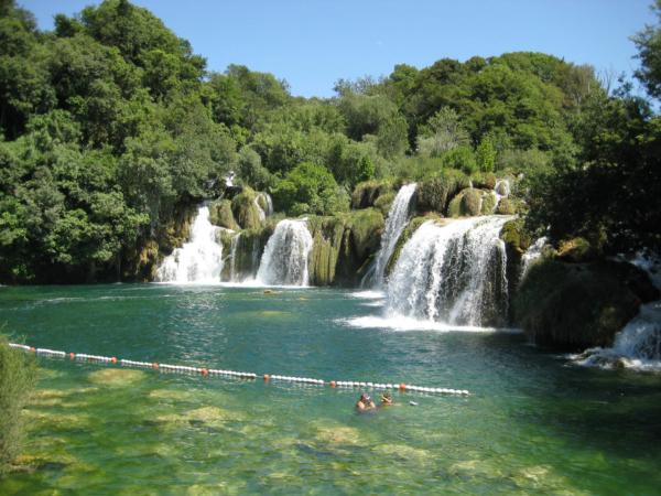 Vodopády Krka podruhé