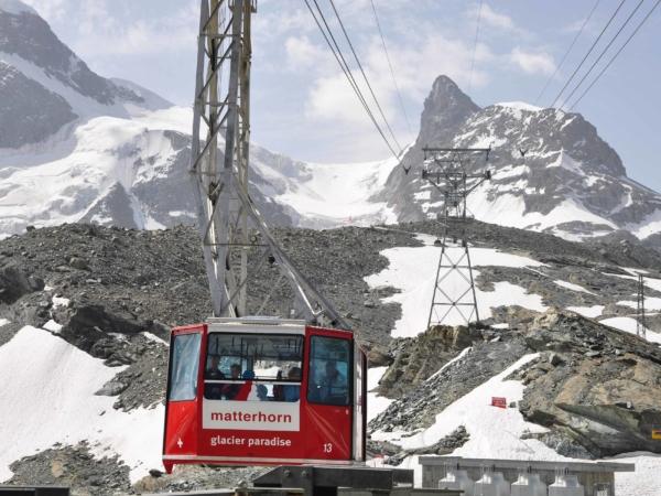 Lanovka na Klein Matterhorn