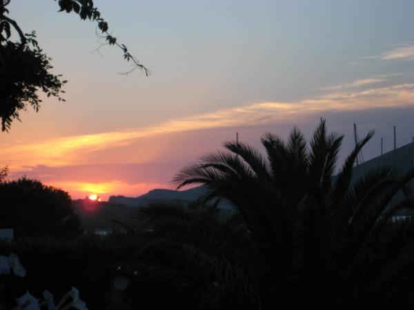Západ slunce v ACI Marina Piškera