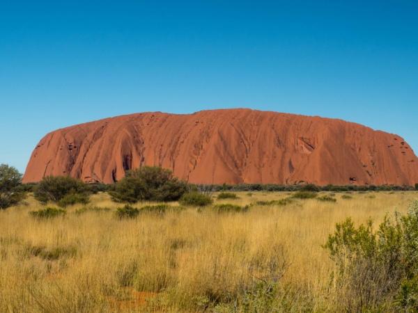 Kvůli tomu jsme sem jeli! Posvátný Uluru neboli Ayers Rock.