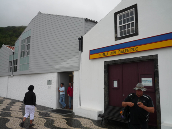 Další muzeum - velrybářské se nachází v městačku Lajes.