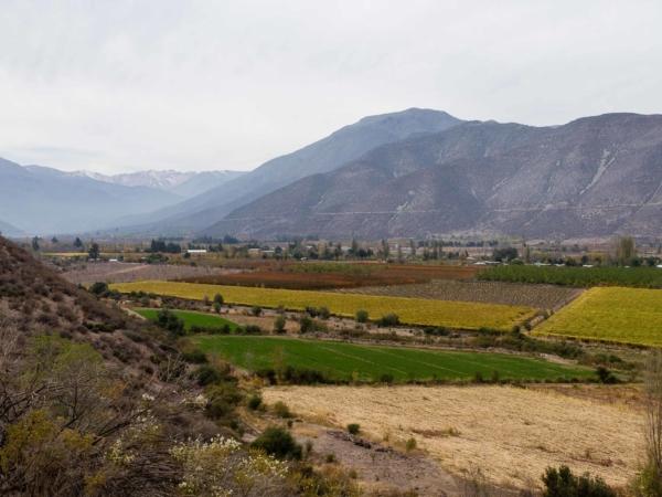 Úrodné údolí.