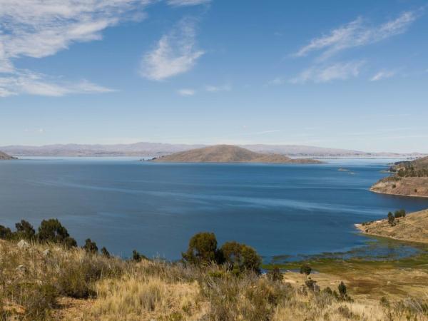 Jezero Titicaca.