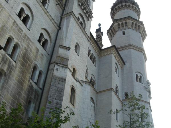 Vstupní strana zámku.