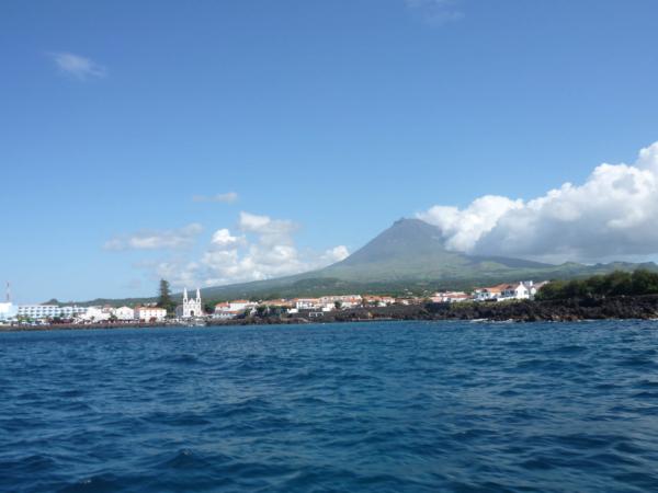 Vjíždíme do přístavu Madalena.