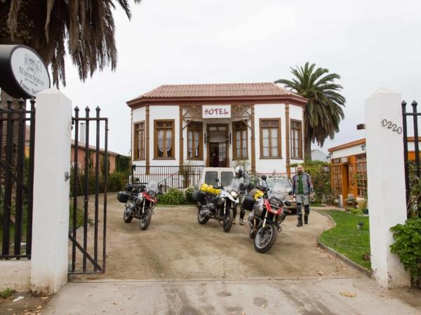 Náš druhý nocleh v městě La Serena.