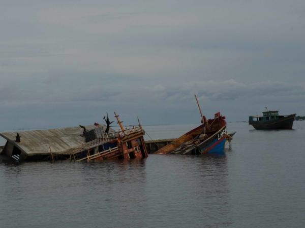 Za trest potopená pašerácká loď.