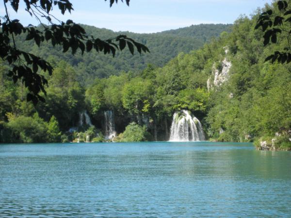 A další vodopády - podobné jako na v NP Krka.