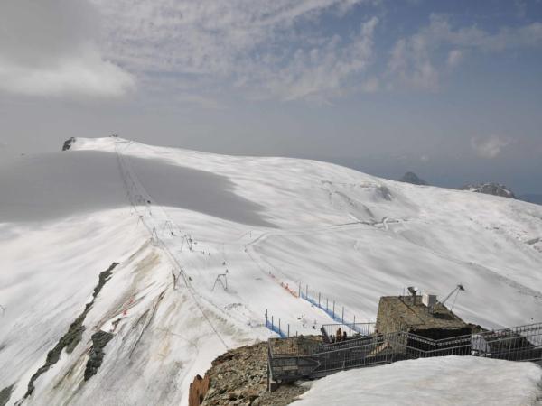 I v létě je zde v provozu lyžařský areál.
