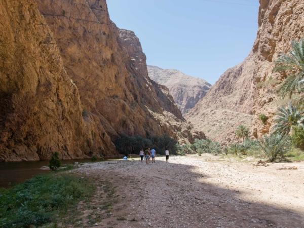 Výlet Wádím Shab.