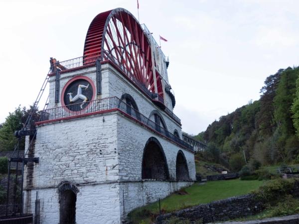 Vodní kolo v Laxey zvané Lady Isabela. A je největší na světě.