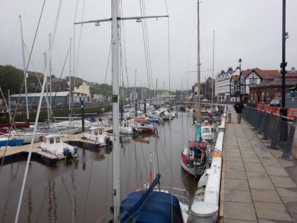 Pohled na přístav Douglas.