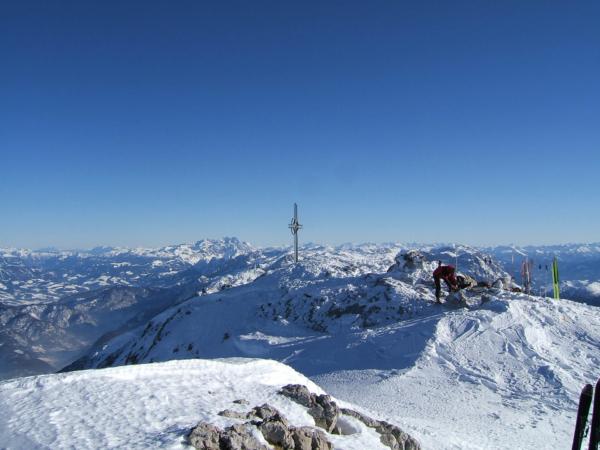Výhledy z vrcholu Hoher Göllu.