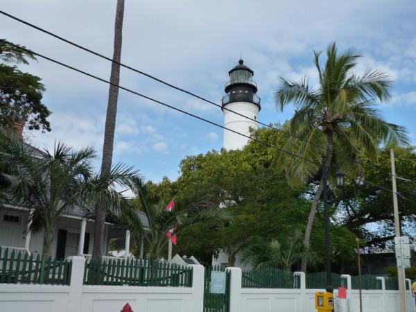 Maják na Key Westu - stal se součástí města.